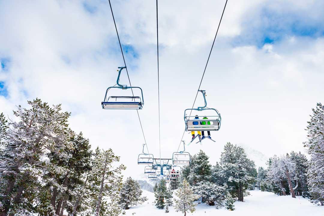 ¿Qué coberturas del seguro de esquí no incluye el forfait?