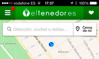 App El Tenedor