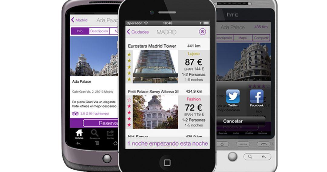 f8eb226afd0ad Hot.es es una aplicación nacida en España que permite a los usuarios  reservar una habitación en un hotel la misma noche de la reserva