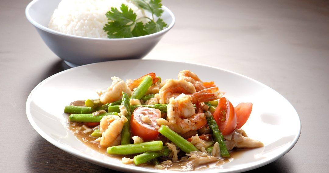 Desayuno tailandés