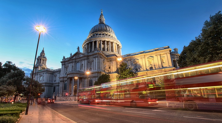 St Paul Cathedral Londres