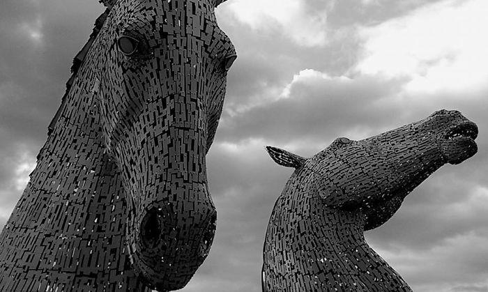 kelpies escocia