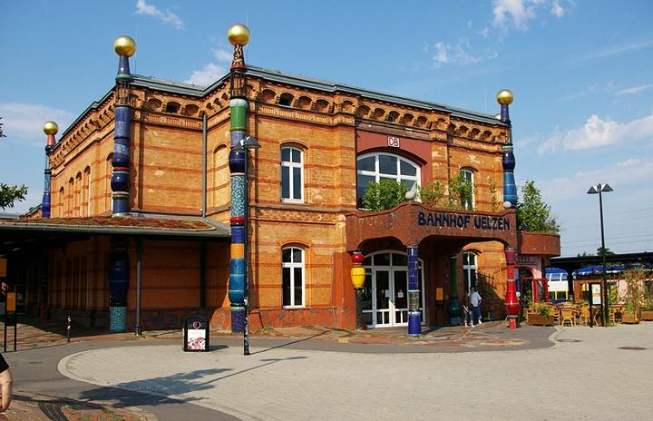 Hundertwasser Bahnhof