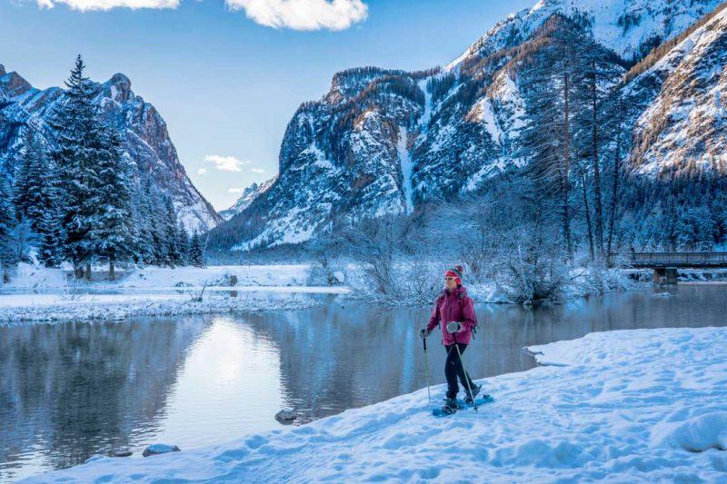 Resultado de imagen de senderismo en la nieve