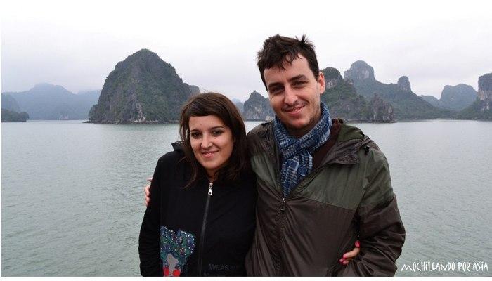 Rober y Lety, bloggers de Mochileando por el Mundo