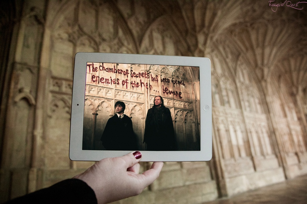 Escena Harry Potter