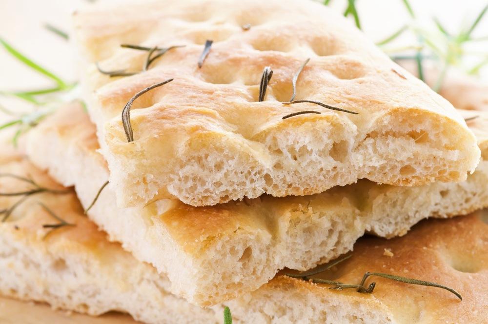 Focaccia, el pan de Italia