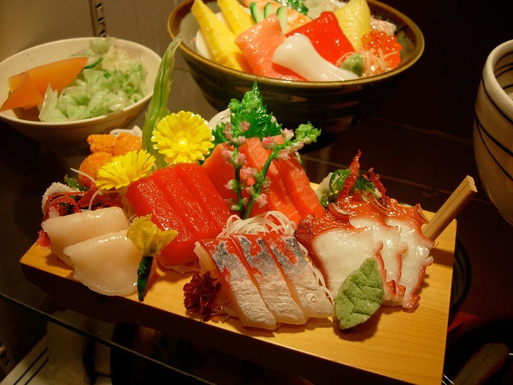 Comida falsa sampuru, Japón