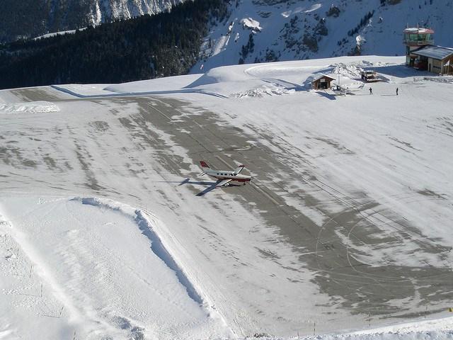 Aeropuerto Courchevel