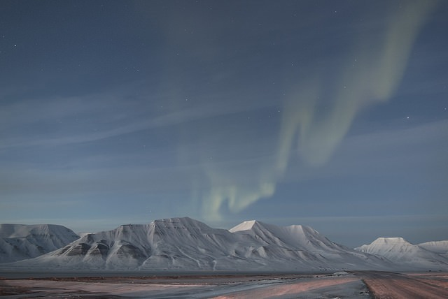 Aeropuerto de Longyearbyen- Svalbard