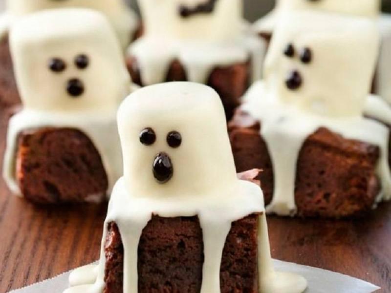 Brownie para halloween