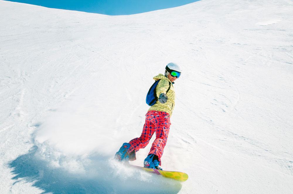 seguro para snowboard y esquí