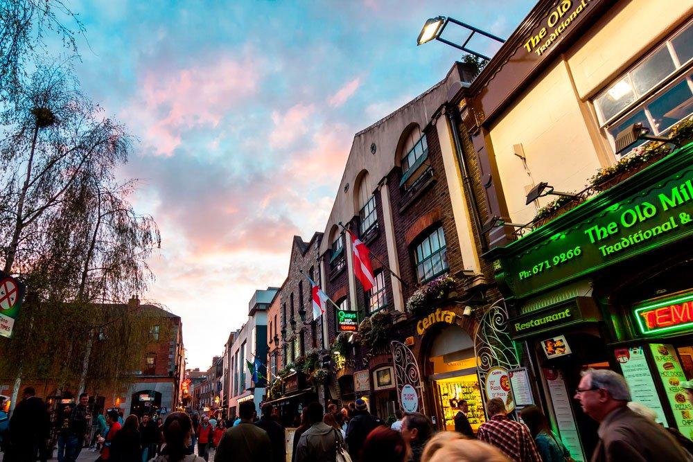 Salir por Dublin