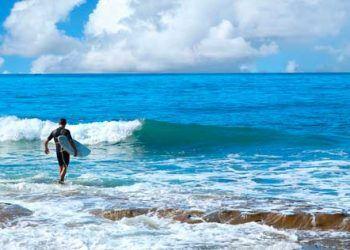 cinco playas donde hacer surf en california