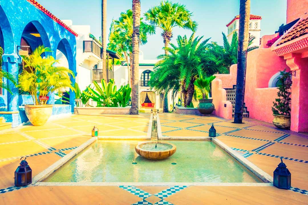 arquitectura antigua de marrakech
