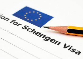 formulario para obtener el visado schengen