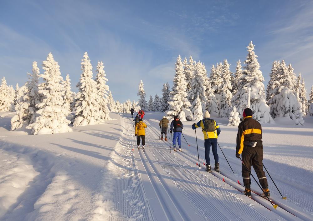 donde practicar esqui de fondo en España