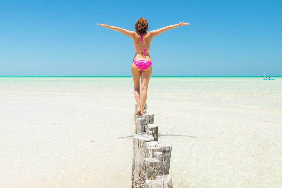 Entre las mejores playas del mundo está la de Holbox, en México.
