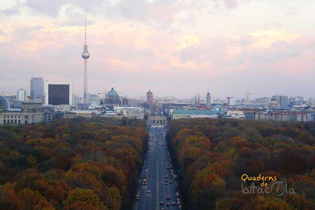 Berlín, un destino donde viajar en otoño