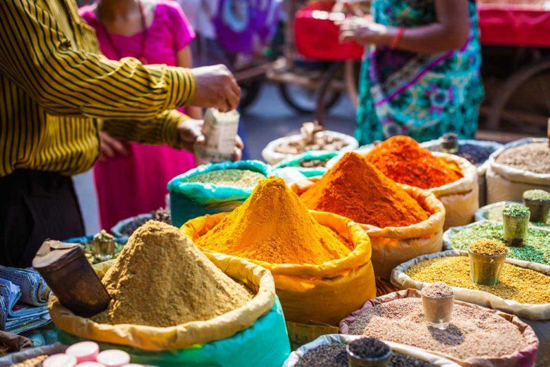 que comprar en india: especias