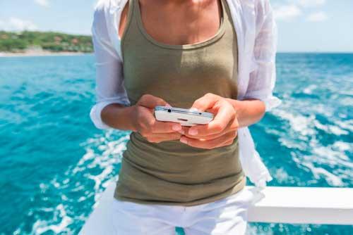 roaming movil llamadas cruceros