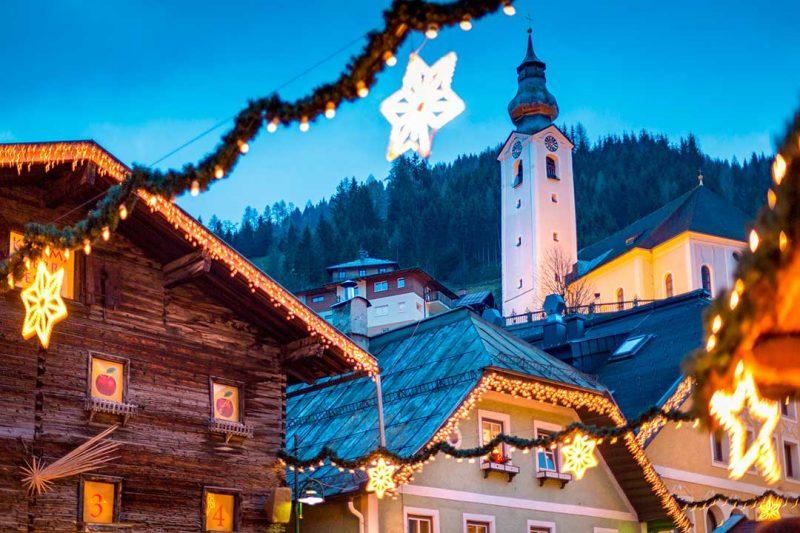 Salzburgo es uno de los mejores destinos navideños de Europa