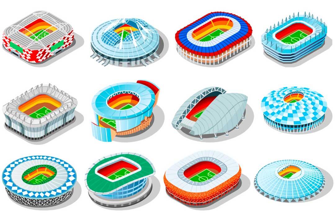 Conoce los estadios que puedes visitar en tu viaje a Rusia 2018