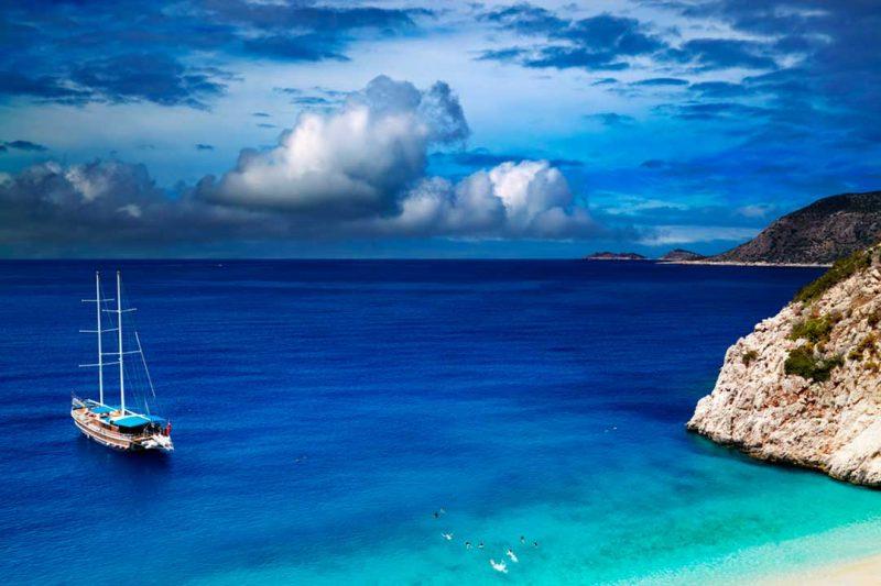 Viajar a Turquia y disfrutar de playas como la de Kaputas