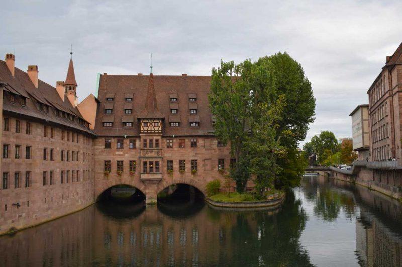 Nuremberg es un buen destino donde viajar en diciembre con niños por Europa