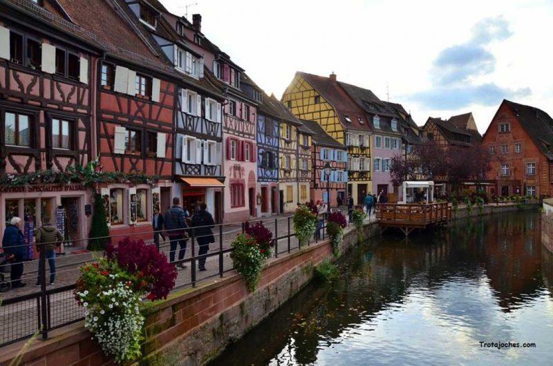 Alsacia es un perfecto destino para viajar en noviembre con niños por Europa