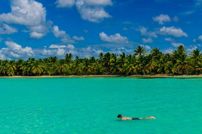 Snorkel en isla Saona es una de las mejores excursiones que puedes hacer en República Dominicana