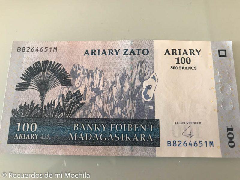 Moneda de Madagascar y otros consejos para visitar el país