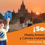 Gana una maleta American Tourister y una cámara instantánea Fujifilm