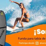 Gana una funda para tabla de surf Dakine