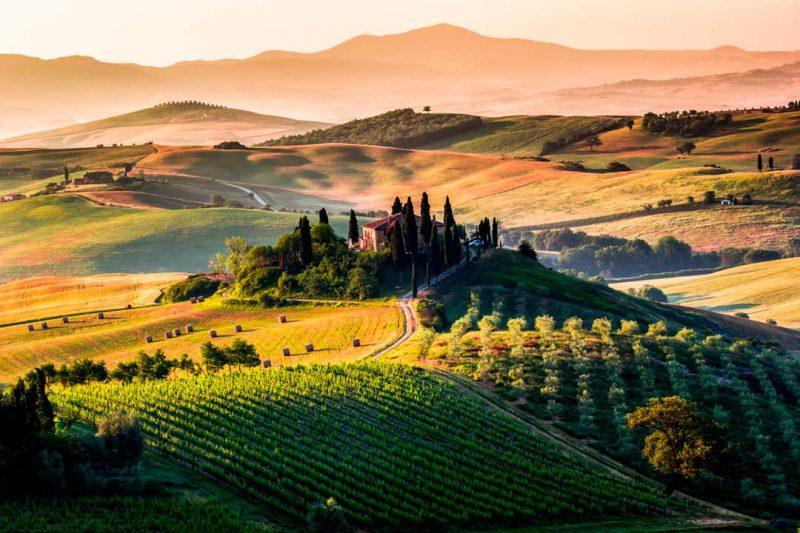 Toscana, uno de los mejores destinos donde ir de vacaciones en octubre