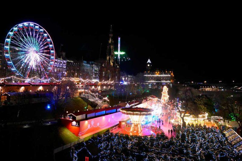 Viaje de fin de año a Edimburgo